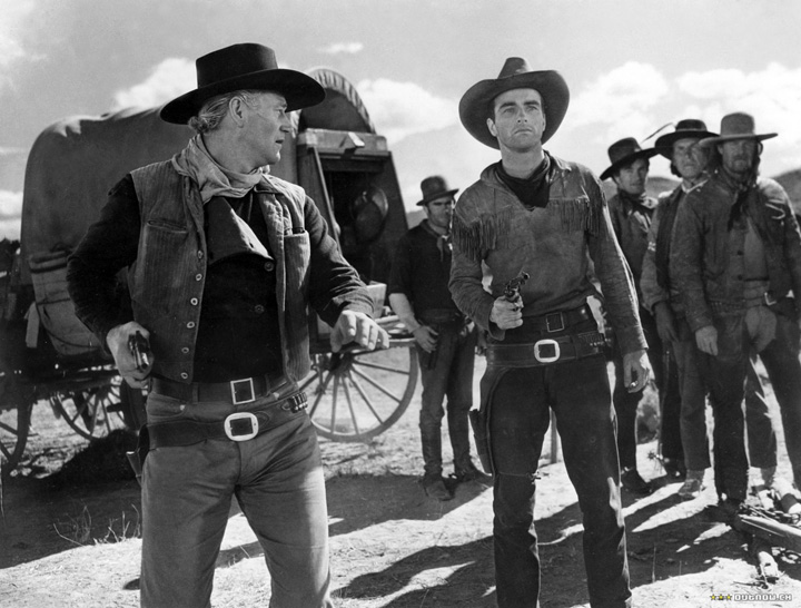 Red River John Wayne Montgomery Clift